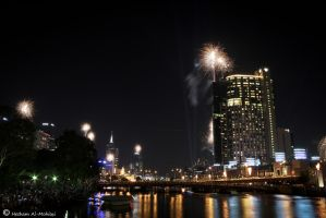 Melbourne New Year 2012... by Al-Msafer