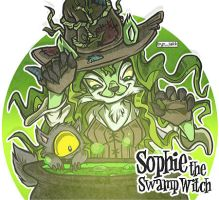 Sophie The Swamp Witch by Rhydon