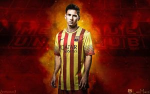73. Lionel Messi by RGB7