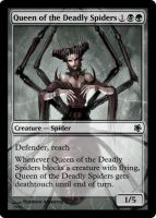 Queen of the Deadly Spiders by Eruner