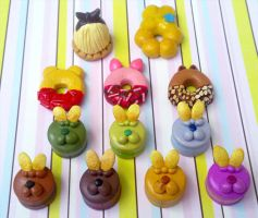 Polymer clay : Rements so far by CraftCandies