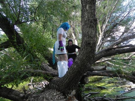 Vinyl Scratch and Octaiva [Photo shoot: 1] by moryaco