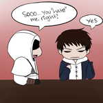 Sneaky Altair - He Loves Me by MadameNyx