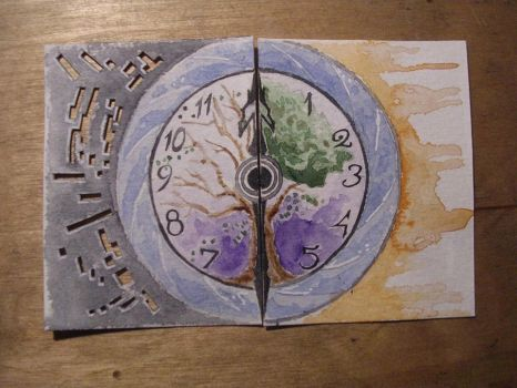 ACEO- Time 2 by LeadCenobit