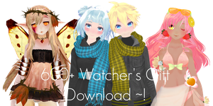600+ Watchers Gift !  (DL) by Crystallyna