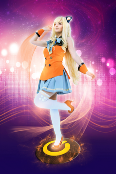 SeeU VOCALOID - Lena cosplay by ladylucienne