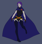 Young Justice- Raven by Taiponite