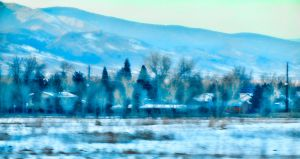 driVing inTo boUlder by mudyfrog