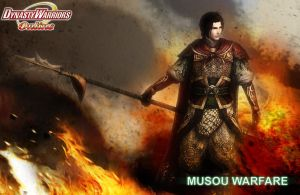 In Fire and Ashes - Musou Warfare by RyanReos