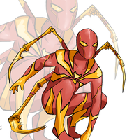 Iron Spider by isansesu0803