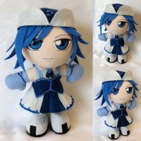 Commission, Mini Plushie Juvia Lockser by ThePlushieLady