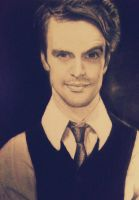 Brendon Urie Portrait by iWishiWereInvincible