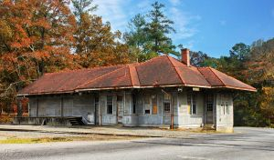 Old Train Depot View 2 - Color by RT-Photos