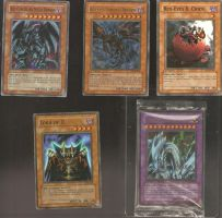 red eye dragon cards by DarkFoxProjectX