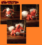 Growlithe Plush by Kurosakou