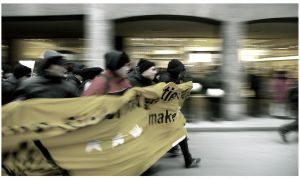 running protesters II by kn23