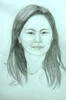 lyn laurito (portrait) by akosikeith