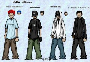 different sides Mike Shinoda by stylistic-division
