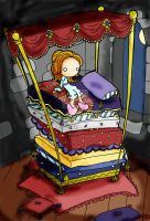 The Princess and the Pea by AppleHeadInc