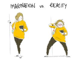Imagination vs Reality 2 by verauko