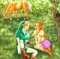Contest Entry Link and Malon by cerasly
