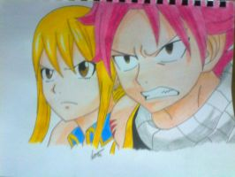 Natsu and Lucy by Outbreak2105