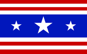 flag of the UNA by gravedesires777