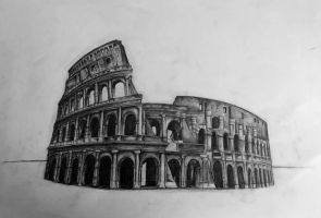 The Colosseum by Mirette-7