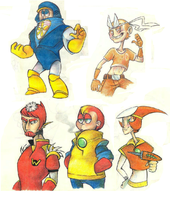 Mega Man Gjinkas by Sony-Shock
