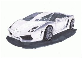 Lambo gallardo by SNiPERseyes