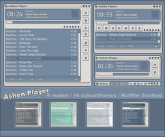 Ashen Player for Winamp by iron2000