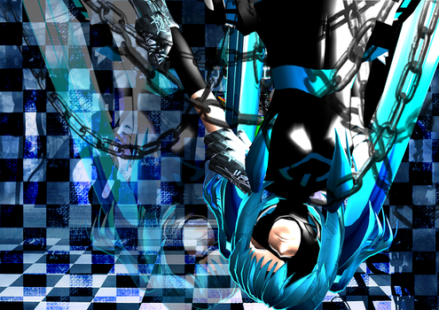 MMD - CCM Crazy Cyber Miku by TroubledPiano