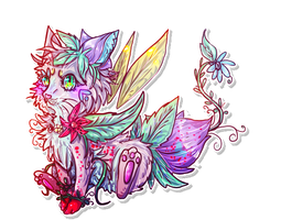 flower neko adopt CLOSED! by xXDistorted-WishesXx