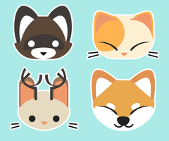 Animal Icons 1 by Jollv