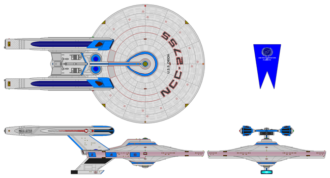 USS Orion NCC 2755 by nichodo