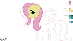 [ WIP] Fluttershy Tablet Drawing by pdiddy200