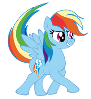 Rainbow Dash by Donaldmaniak