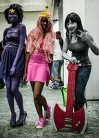 Adventure Time at AnimeKon Expo by chaserxfly