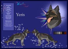 Yeris_Model-sheet by Aquene-lupetta