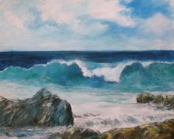 Seascape wave by Boias