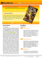 iReadBooks Website by maoractive
