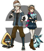 Jelsa Pokemon AU by BlueStorm-Studio