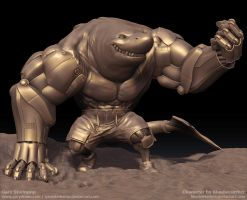Greezer - Zbrush Render 1 by GaryStorkamp