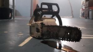 Chainsaw With Blood 1 by Lycanis2012