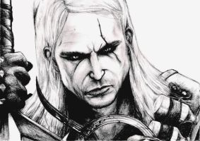 Geralt by Dark--wolf
