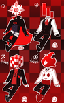 [1/4 OPEN] Blood Type Adoptables 2[PAYPAL/POINTS] by Operation-NovaCross