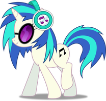 Vector #240 - Vinyl Scratch by DashieSparkle