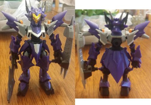 Magna Orthus front and back by GZneonknight45