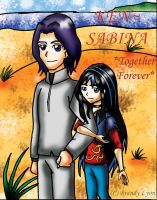 KEN and SABINA TOGETHER 4EVER by TheDocRoach