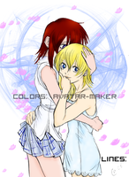 Kairi and Namine by avatar-maker
